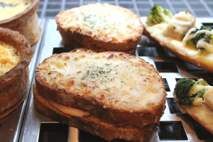 boulangerie gout(ブーランジュリーグウ)ルヴァンのクロックムッシュ