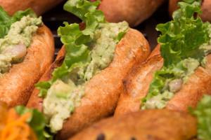67 boulangerie gout(ブーランジュリーグウ)エビとアボガドのカスクルート