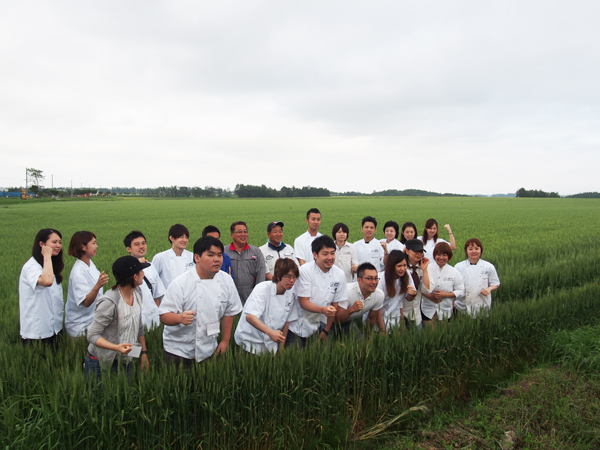boulangerie gout(ブーランジュリーグウ) 北海道小麦現地視察研修ツアー
